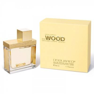 dsquared² she wood golden light wood