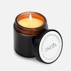 India Naturalna świeca...